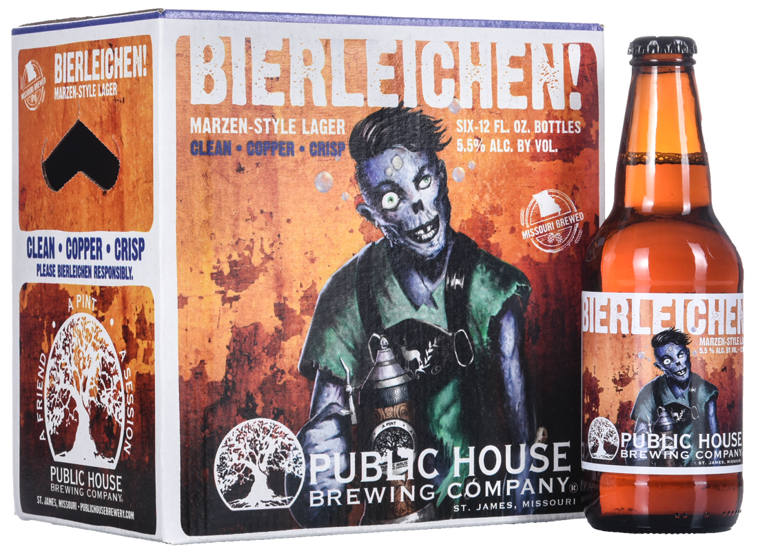 Wildfire Creative - Bierleichen beer box and label design