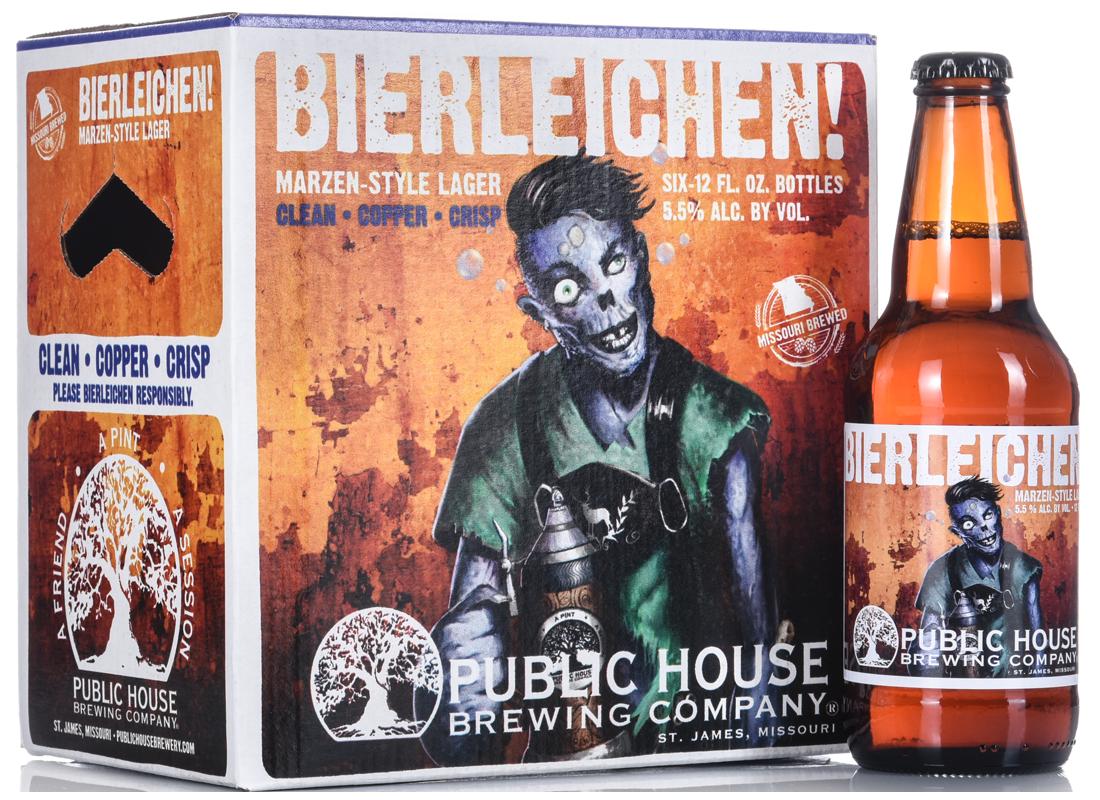 Wildfire Creative - Bierleichen beer box and label design