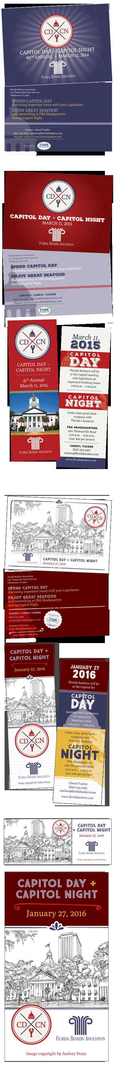 Event marketing for Florida Bankers Association.