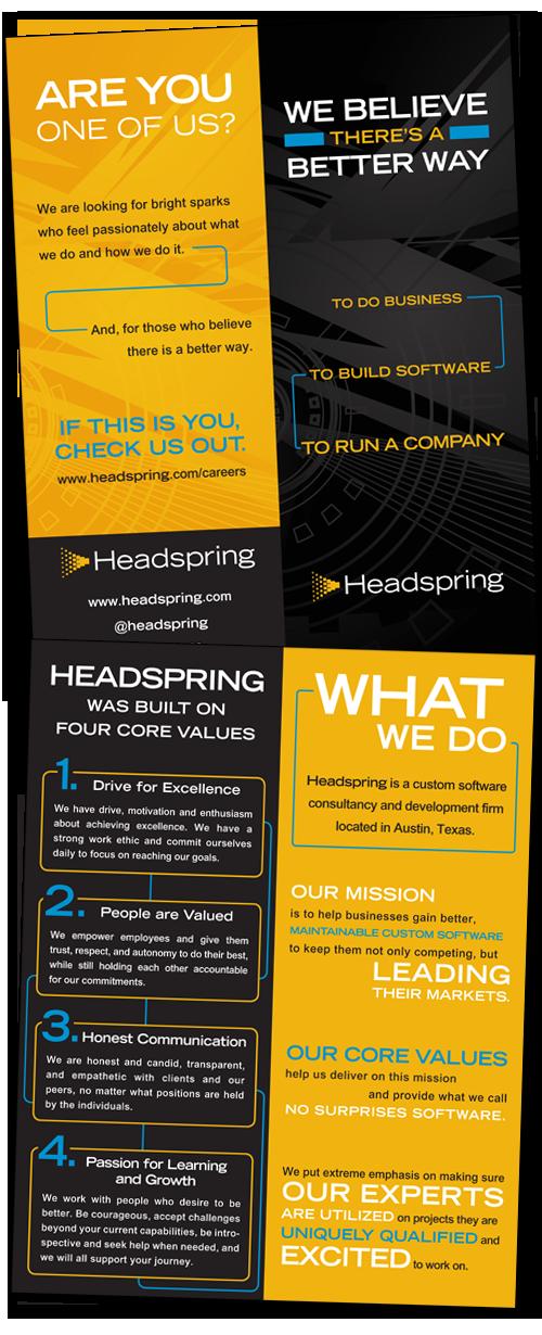 Wildfire Creative - brochure graphic design