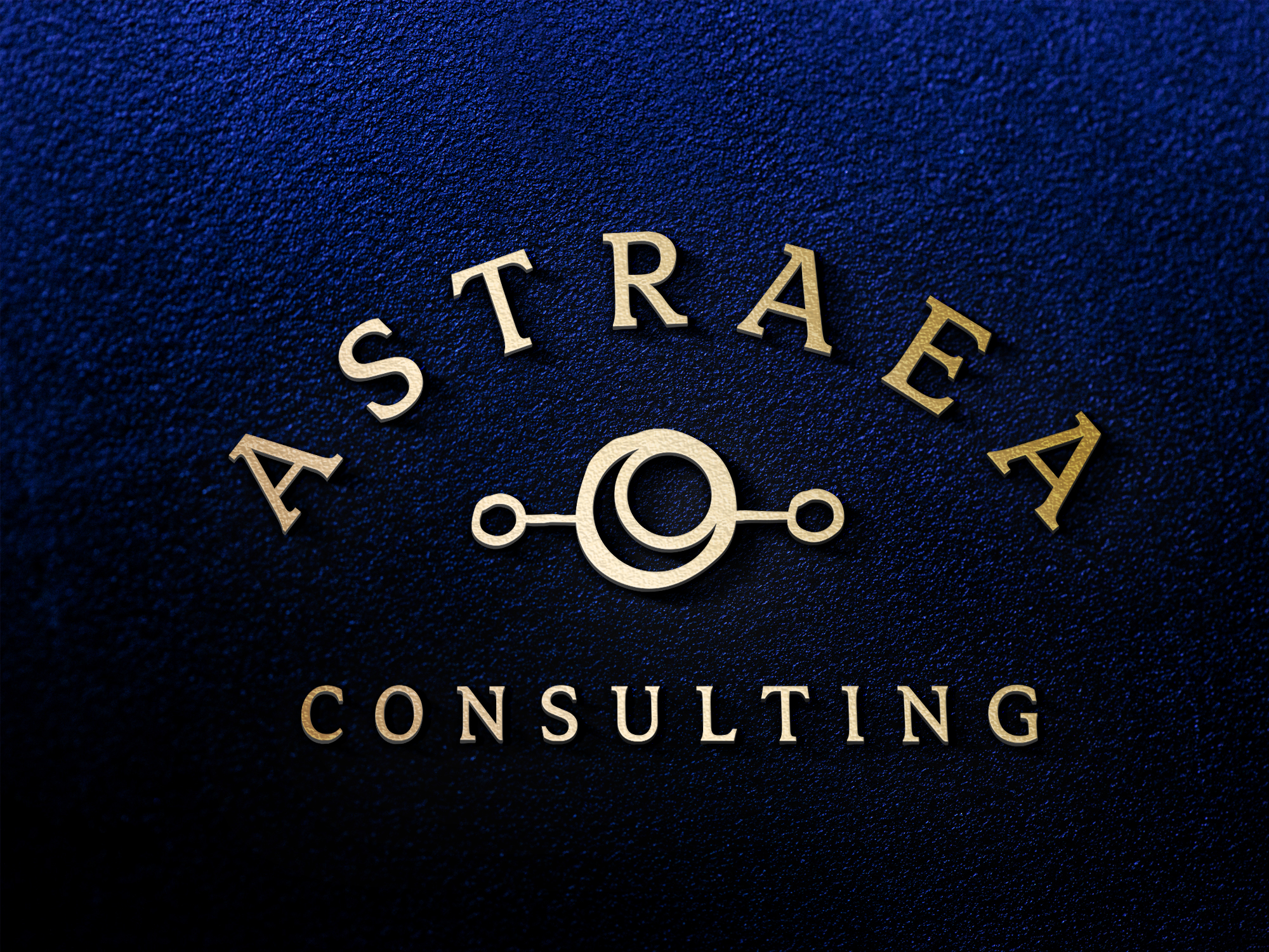 Astraea Consulting logo wall sign