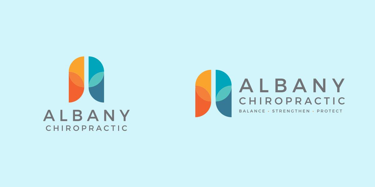 Albany Chiropractic alternative logos