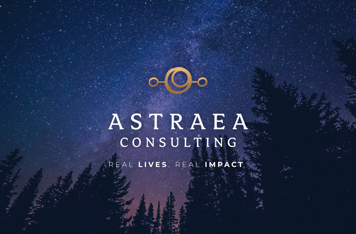 Astraea Consulting branding and tagline