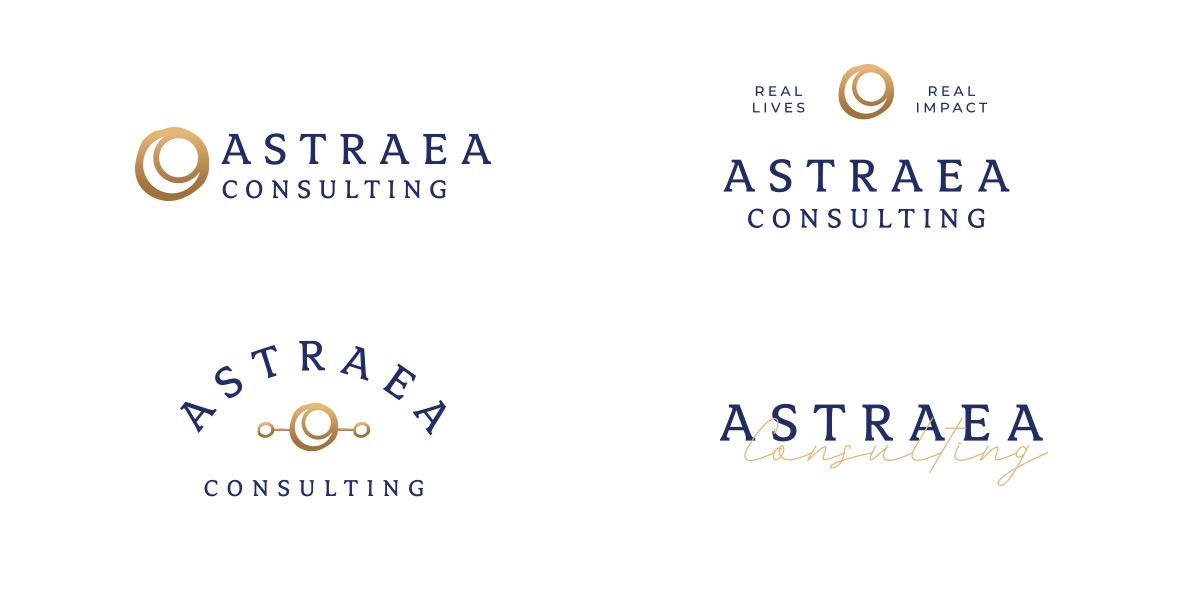 Astraea Consulting alternative logos