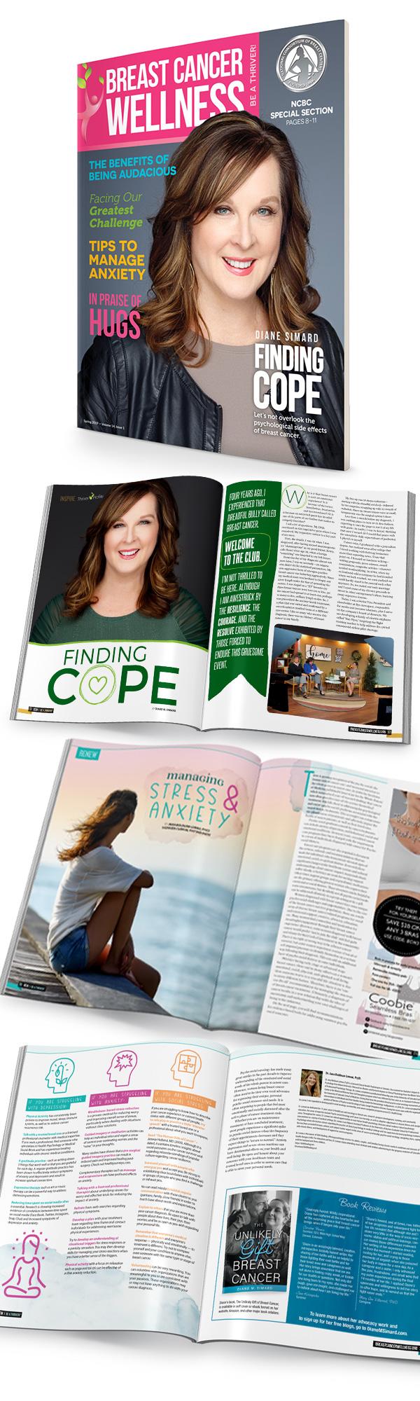 Wildfire Creative BCW magazine layouts
